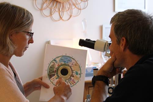 consultation iridologie
